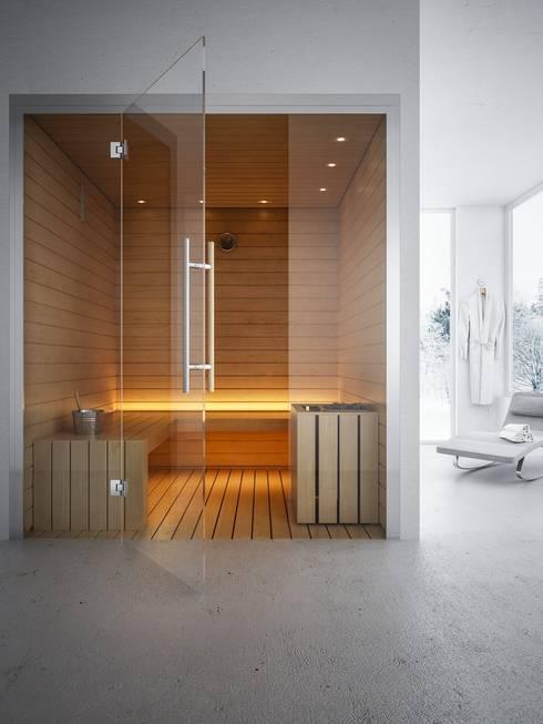 Sauna Finlandese: Spa in stile  di ki life  Wellness Operator