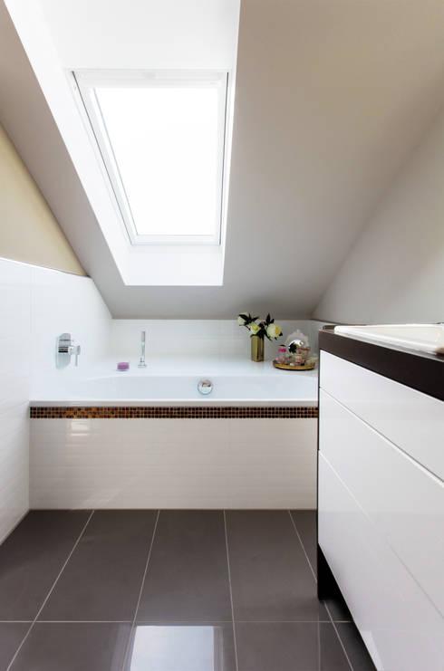 Badezimmer In Dachgeschoss : Moderne Badezimmer Von Ks Raumgestaltung