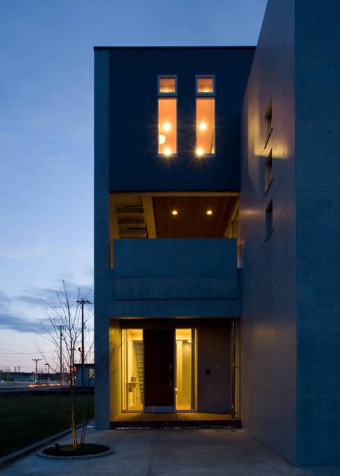 本田建築設計事務所의  주택