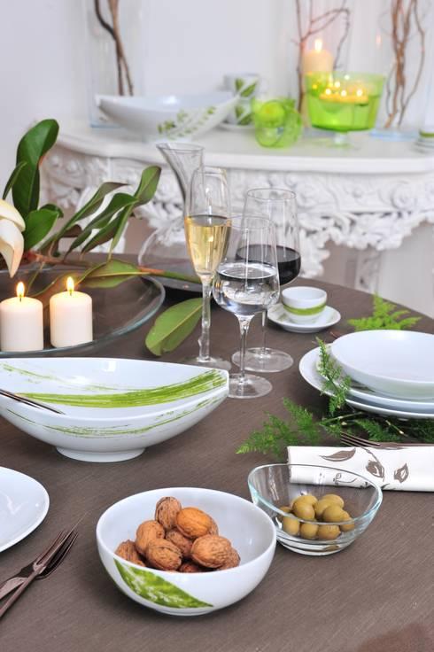 Welcome to Casa Alegre: Sala de jantar  por Casa Alegre