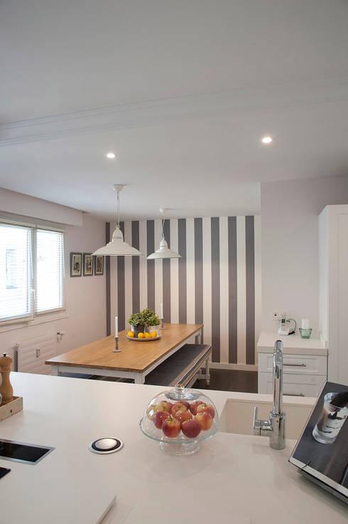 Cocinas de estilo  por Gumuzio&MIGOYA arquitectura e interiorismo
