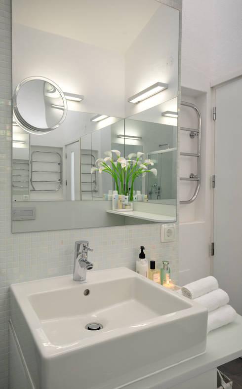 Residência Privada Vilamoura: Casas de banho modernas por Leonor Moreira Romba - Arquitecturas