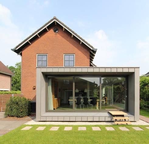 Renovatie en uitbreiding jaren 50 woning di newjoy concepts homify - Idee huis uitbreiding ...