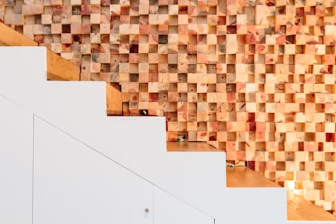 DETALLE ESCALERAS:  de estilo  por gOO Arquitectos