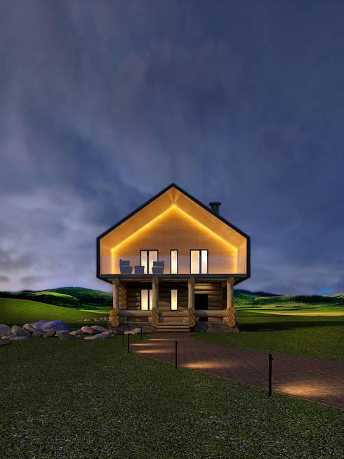 Casas de estilo  por Dmitriy Khanin