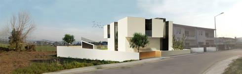 Casa N+V: Casas minimalistas por GAUDIprojectos