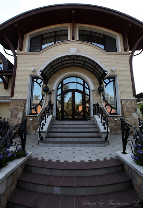 Линии Ар Деко : Дома в . Автор – Bu_design