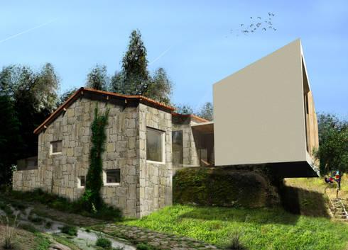 Casa D´Oliveira - Turismo Rural: Hotéis  por GAUDIprojectos
