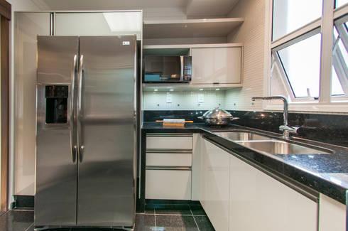 Cozinha: Cozinhas modernas por LC ARQUITETURA