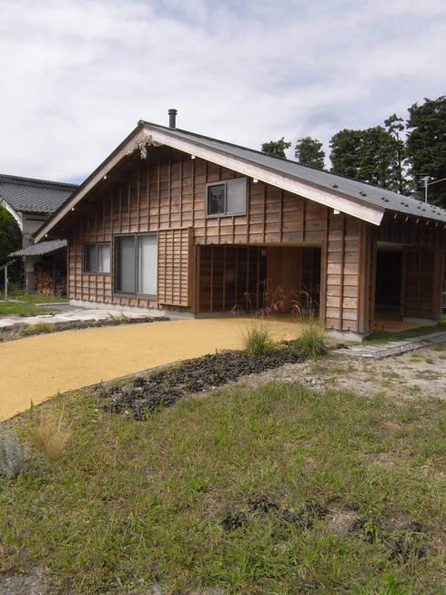 外観: 一級建築士事務所マチデザインが手掛けた家です。