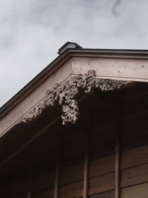 棟飾り: 一級建築士事務所マチデザインが手掛けた家です。