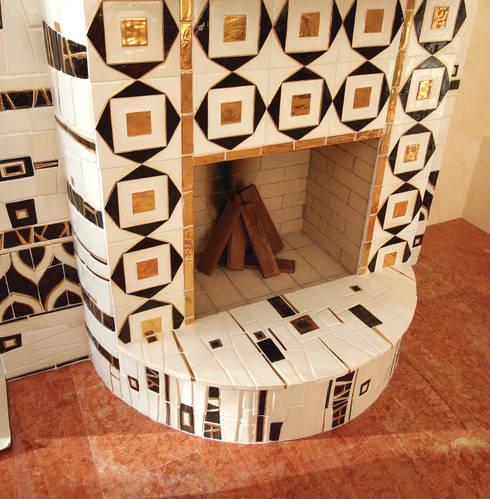 Living room by ООО 'Арт-керамика Владимира Ковалева'