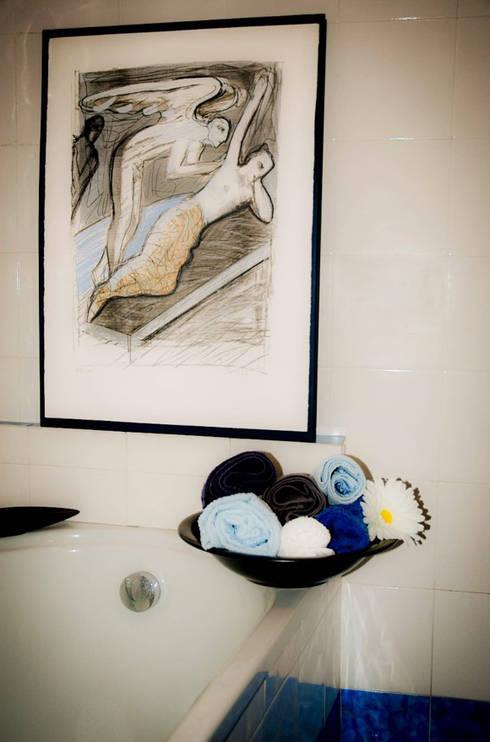 post-staging: Bagno in stile in stile Moderno di My Home Attitude - Barbara Sala