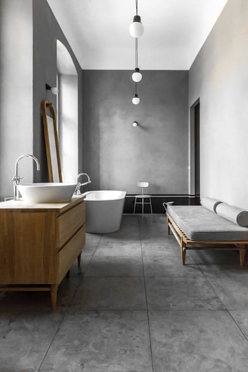 Master bathroom: industrial Bathroom by Loft Kolasinski