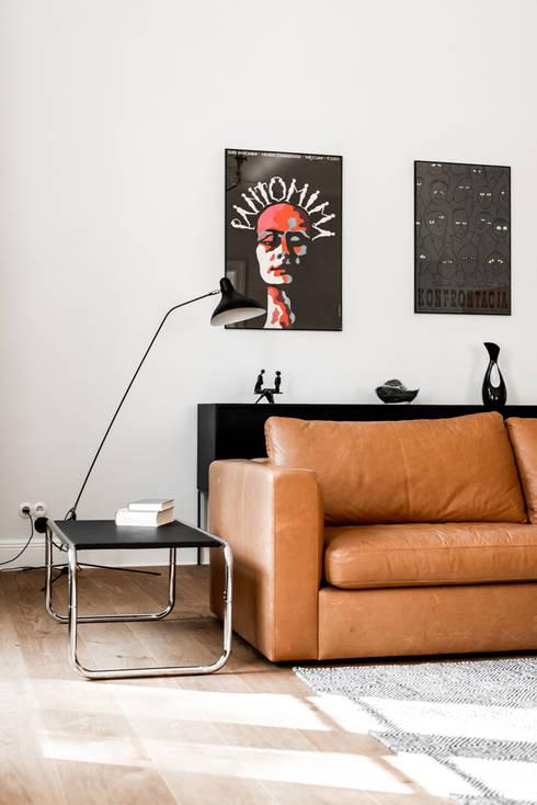 غرفة المعيشة تنفيذ Loft Kolasinski