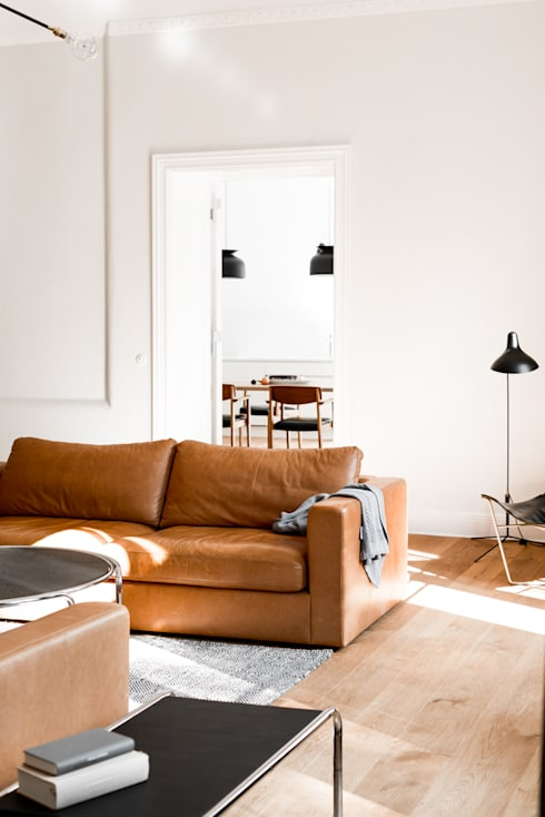 Living room by Loft Kolasinski