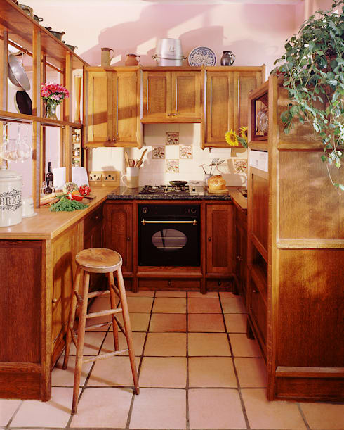 Sidmouth Devon Kitchen designed and made by Tim Wood:  Kitchen by Tim Wood Limited