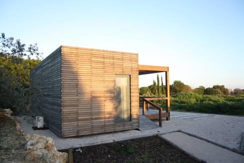Projecto Bungalow Algarve: Casas rústicas por goodmood - soluções de habitações