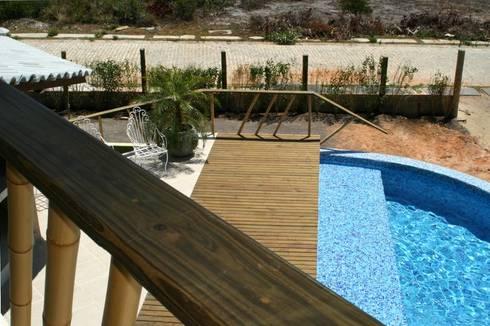 Casa Ecológica I: Terraços  por alexis vinícius arquitetura e design