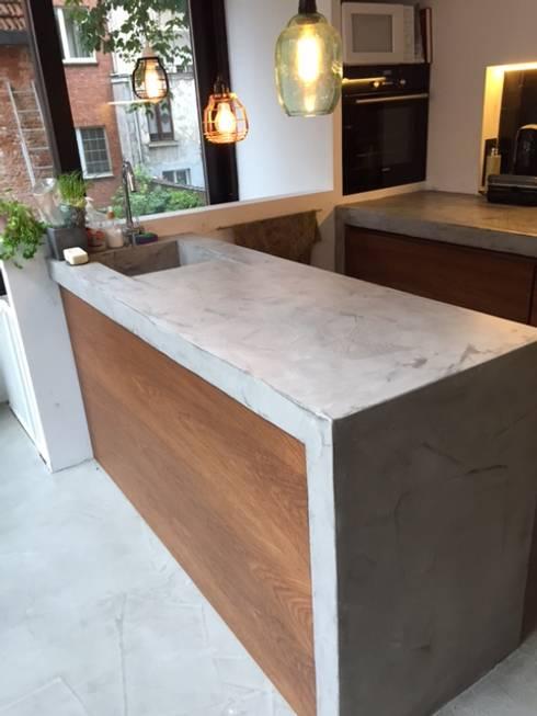 Kitchen by Den Ouden Tegel