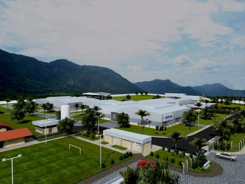 Liko Massapê: Espaços comerciais  por Aurion Arquitetura e Consultoria Ltda