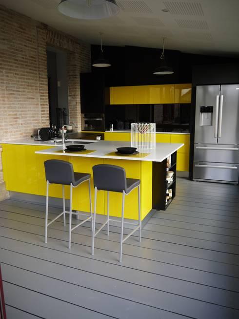 Démesure: modern tarz Mutfak