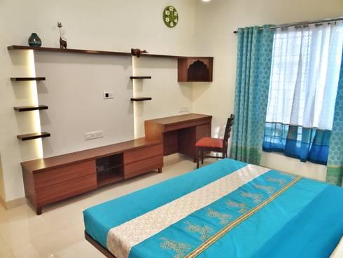 Bedroom: modern Bedroom by Nuvo Designs
