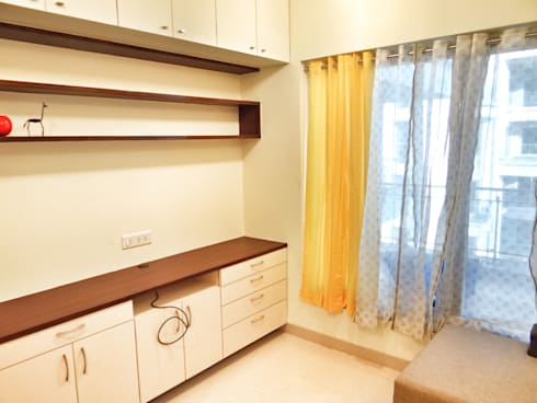Guest Room: modern Bedroom by Nuvo Designs