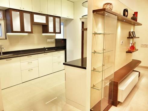 Kitchen Area: modern Kitchen by Nuvo Designs
