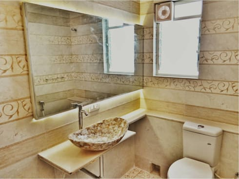 Despande's Residence: modern Bathroom by Nuvo Designs