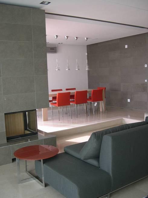 Detalhes - Arquitectura de Interiores: Salas de estar modernas por Space Invaders _ Arquitectura e Design