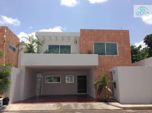 Mexico Norte: Casas de estilo moderno por LEYCAZA SA DE CV