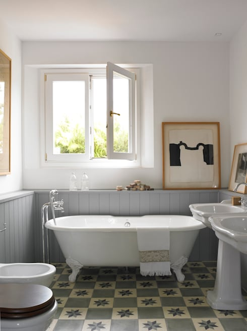 Bathroom by Melian Randolph