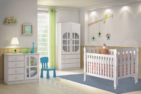 7 - Ambiente lila: Quarto de crianças  por Abra Cadabra