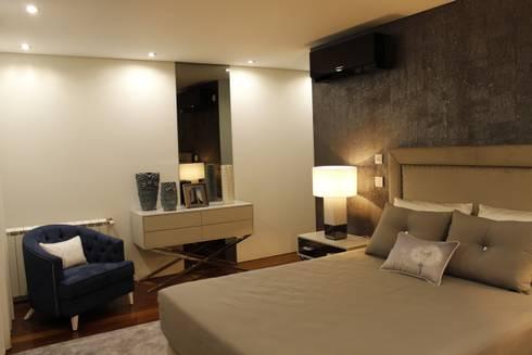klassische Schlafzimmer von HC Interiores