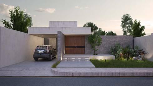 Casa Silveira: Casas de estilo moderno por TNGNT arquitectos