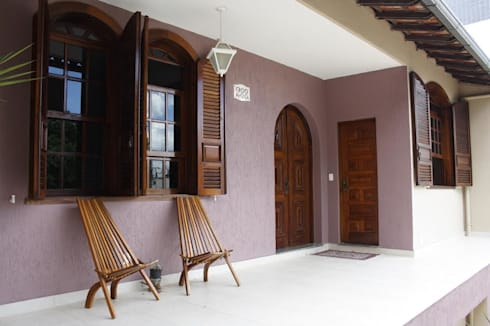 projeto: Casas modernas por ARQUE ARQUITETURA & CONSTRUÇÃO SUSTENTÁVEL