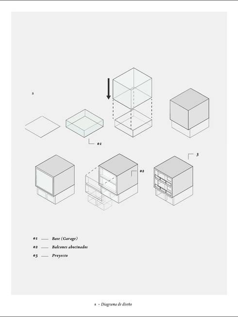 MC //221: Estudios y oficinas de estilo moderno por DOSA studio
