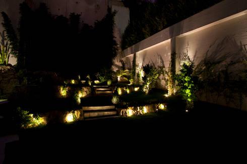 Moradia na Rua do Salitre (Lisboa): Jardins tropicais por Visual Stimuli
