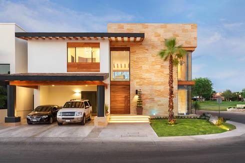 CASA CAR: Casas de estilo moderno por Imativa Arquitectos