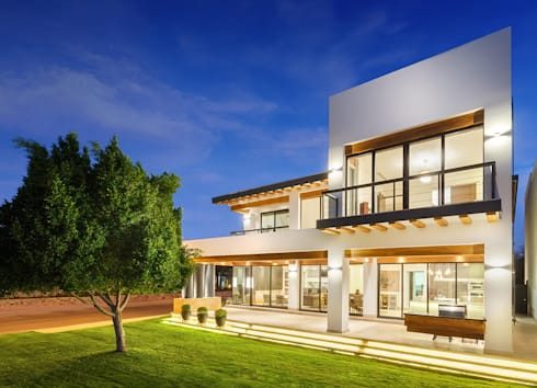 casa car de imativa arquitectos homify