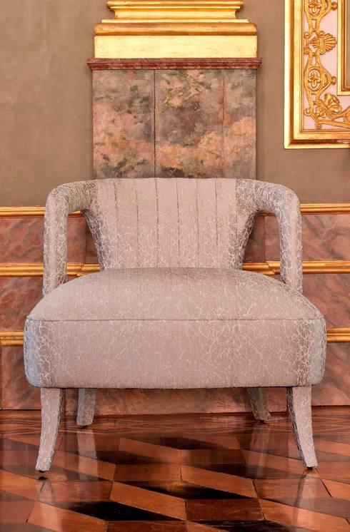 Beloved FR: Casa  por Aldeco, Interior Fabrics