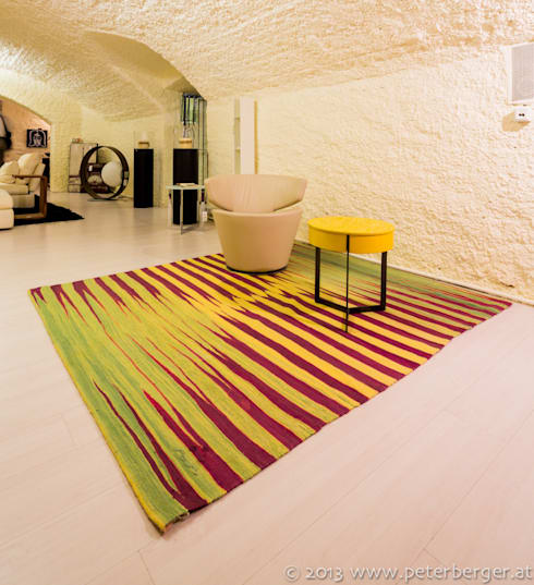 Parede e piso  por Beate von Harten Atelier für Textildesign