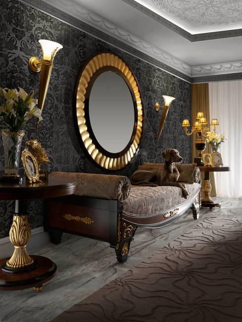 chaisse-longue: Salones de estilo clásico de marina mobles