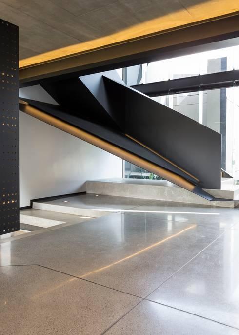 الممر والمدخل تنفيذ Nico Van Der Meulen Architects