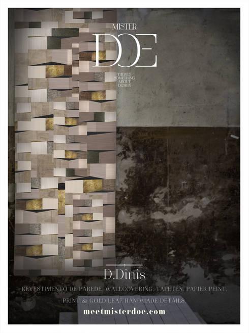 Revestimento de Parede - D. Dinis: Casa  por Mr. Doe
