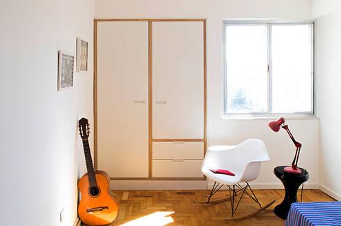 Projeto Apartamento Ipiranga: Quartos  por Estudio MB