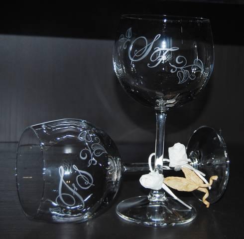 Serigrafie su vetro di milena alippi decorazioni homify for Serigrafia bicchieri