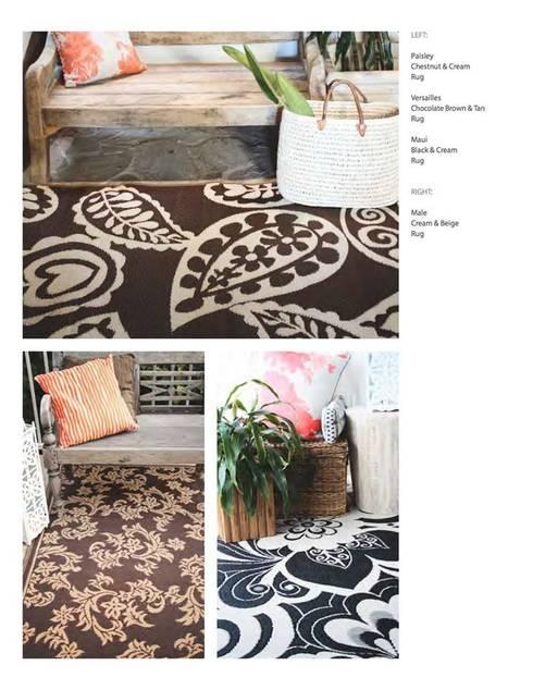 Tapetes Decorativos: Hogar de estilo  por Luz y punto