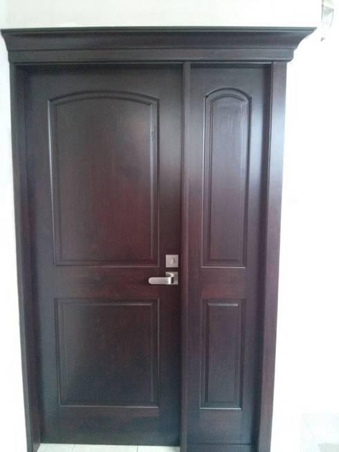 Carpintería HDH: Puertas y ventanas de estilo moderno por carpinteria hdh